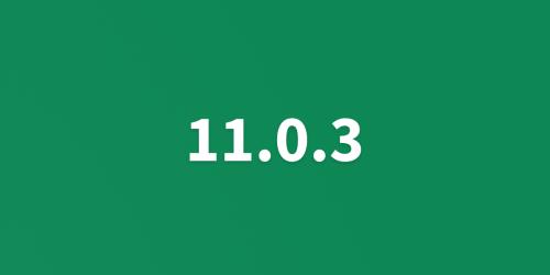 UNA 11.0.3 Released